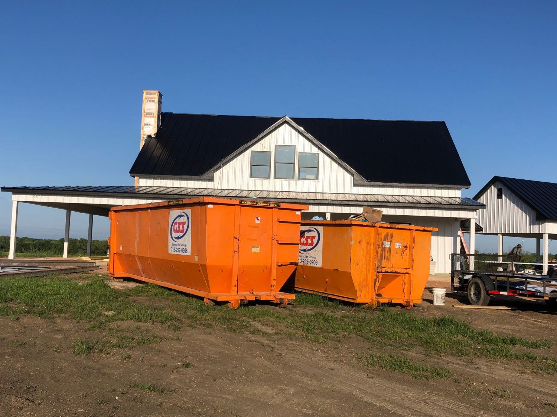 Dumpster Rental for Waste Management and Junk Removal.