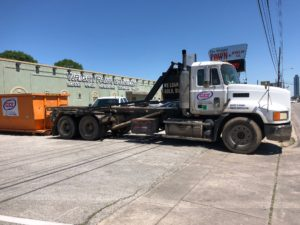 Commercial Construction Dumpster Rental in Houston.