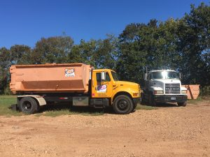 roll off dumpster trucks